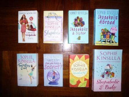 Sophie Kinsella Titles/Novels/Books