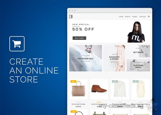 Create an Ecommerce Website Web Design Online Store Shopping Cart SEO Friendly (direct Developer)