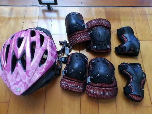 Hardly Used K2 Youth Jette's Heart Inline Skates for sale