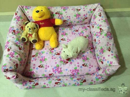 New medium dog bed sofa for sales.