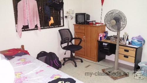 Toa payoh Aircon room for rent for single lady near Bradell mrt