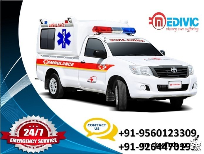 Book Quality-Based Emergency Ambulance Service in Delhi at Low-Cost
