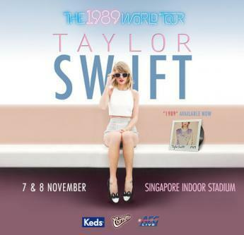 For Sale Taylor Swift CAT 1 (only 1 ticket left available)