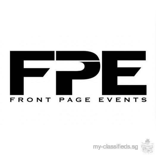 Front Page Events looking to hire part time/free lance Event Executive