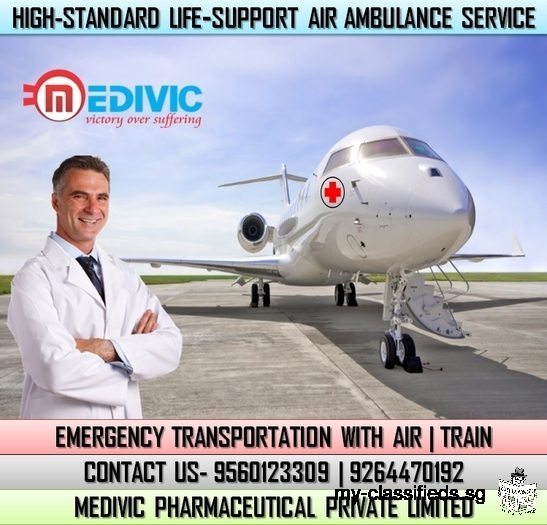 Get the Great Benefits by Medivic Air Ambulance Services in Bangalore