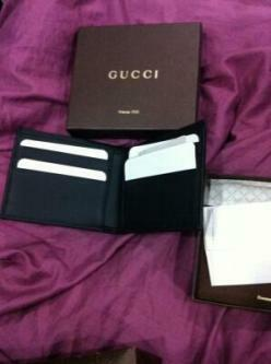 New limited edition Gucci wallet