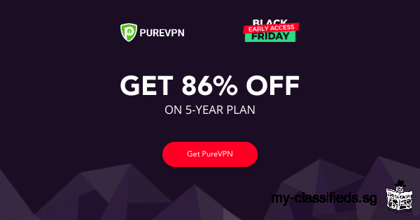 PureVPN's Early Black Friday Deal: Get a whopping 86% Off on PureVPN's Five Year Plan!