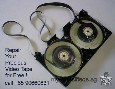 Repair Your Precious Video Tape for Free ! -90660631