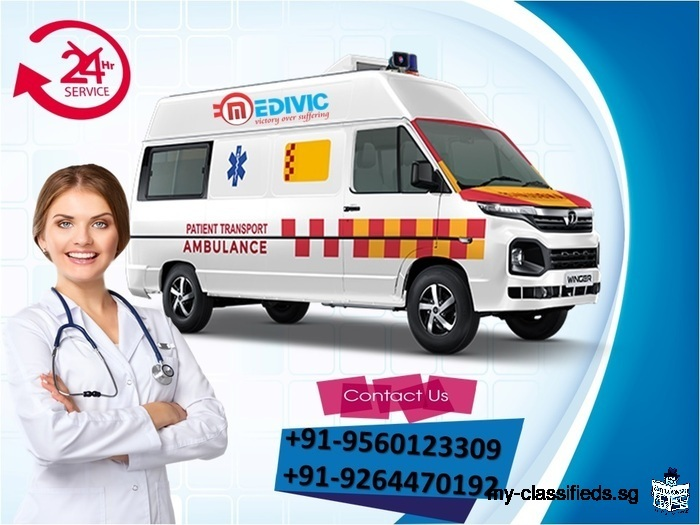 The Great Solution to Shift by Medivic Ambulance Service in Varanasi