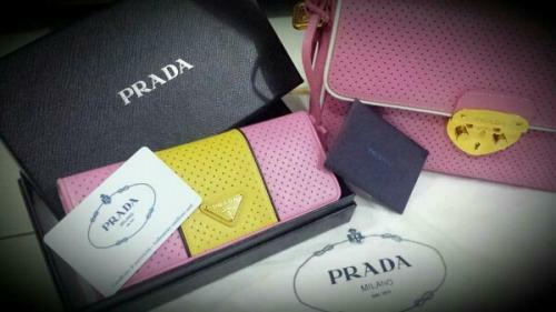 Used Prada handbag and wallet