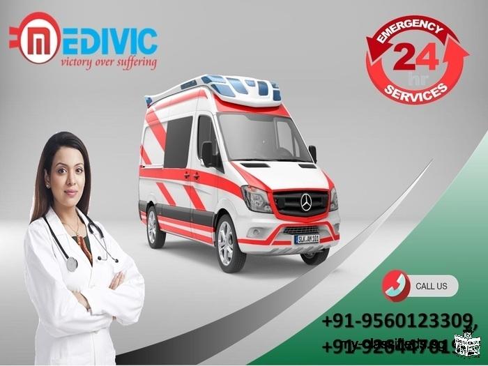 Utilize Hi-tech ICU Setup by Medivic Ambulance Service in Jamshedpur