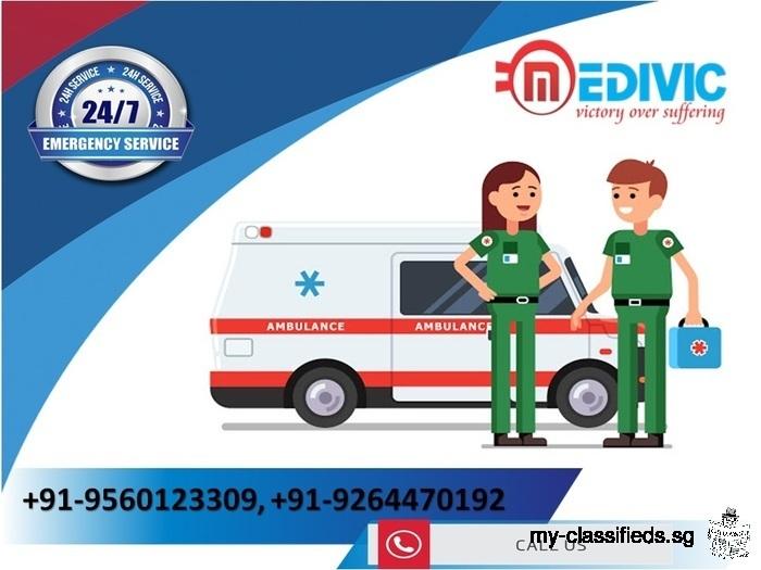 Utilize Unique ICU Setup by Medivic Ambulance Service in Patna