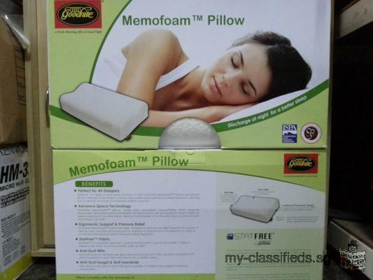 goodnite Memofoam pillows 2 for 60.00 brand new