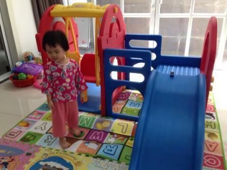Kid Slide and Swing playground set