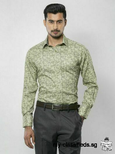Latest Printed Exclusive Formal Shirt for sell