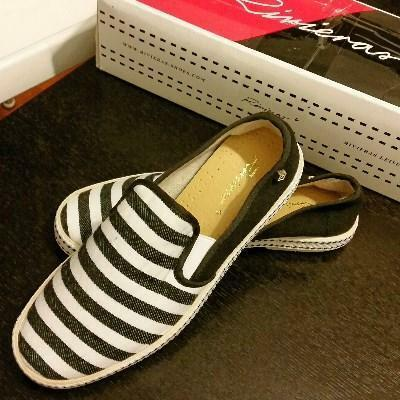 Trendy slip-on ladies shoes Rivieras look-a-like