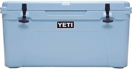 Yeti Tundra 65 Quart Cooler, Ice Blue;.$140 Usd