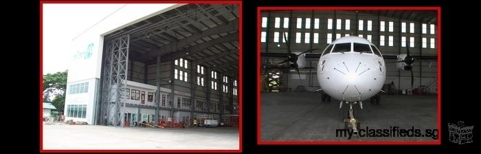 Construction de grandes structures et hangars