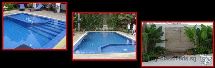Construction de piscines en Thailande