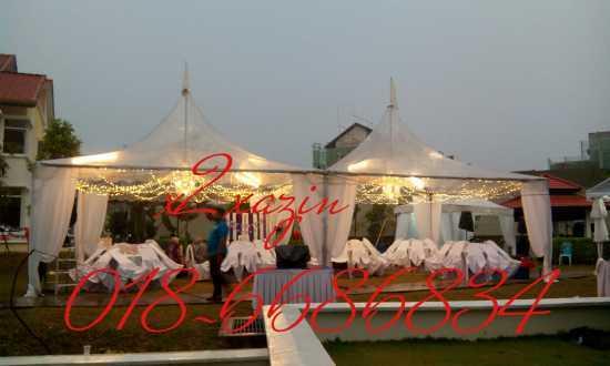 perkhidmatan sewa canopy/khemah